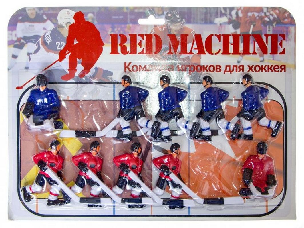 Купить Команда игроков для хоккея Red Machine синий 58.001.02.4,
