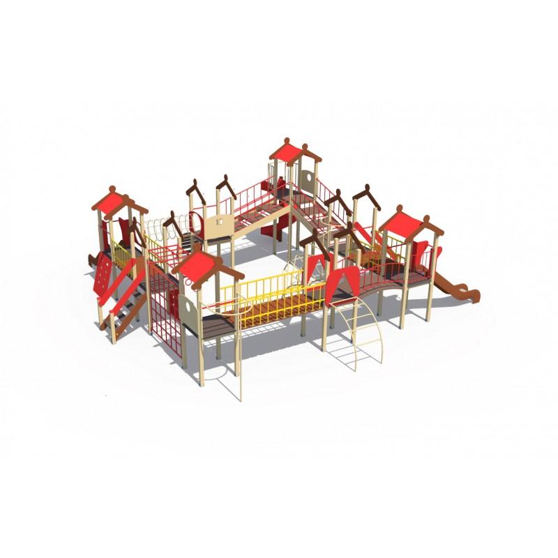 Купить Игровой комплекс МАФ серии Городские кварталы Н-1200, Н-2000 ДИО 05054,