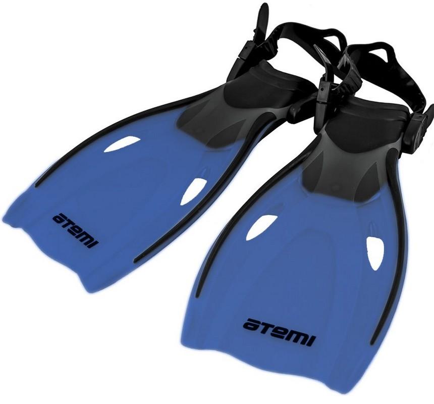 Купить Ласты для плавания Atemi 271 синие,