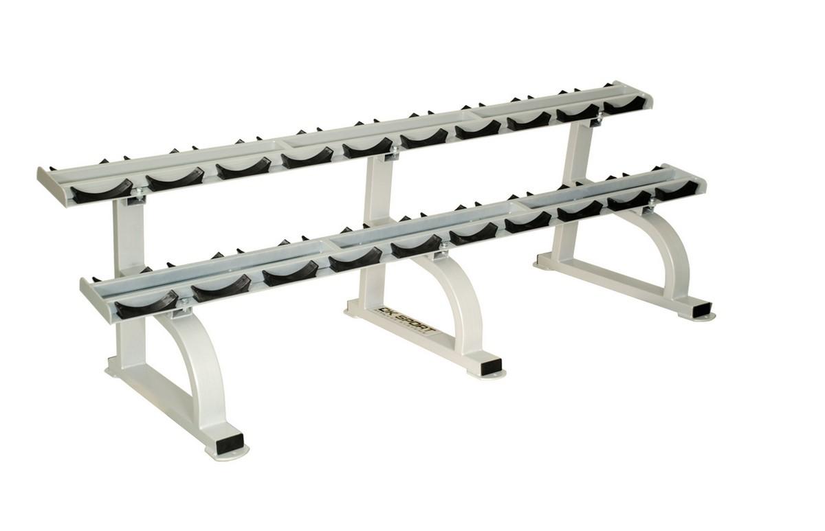 Стойка для профессиональных гантелей на 10 пар DK- Sport SF116 рама и стойка для электронной установки 2box drumit five rackpipe long