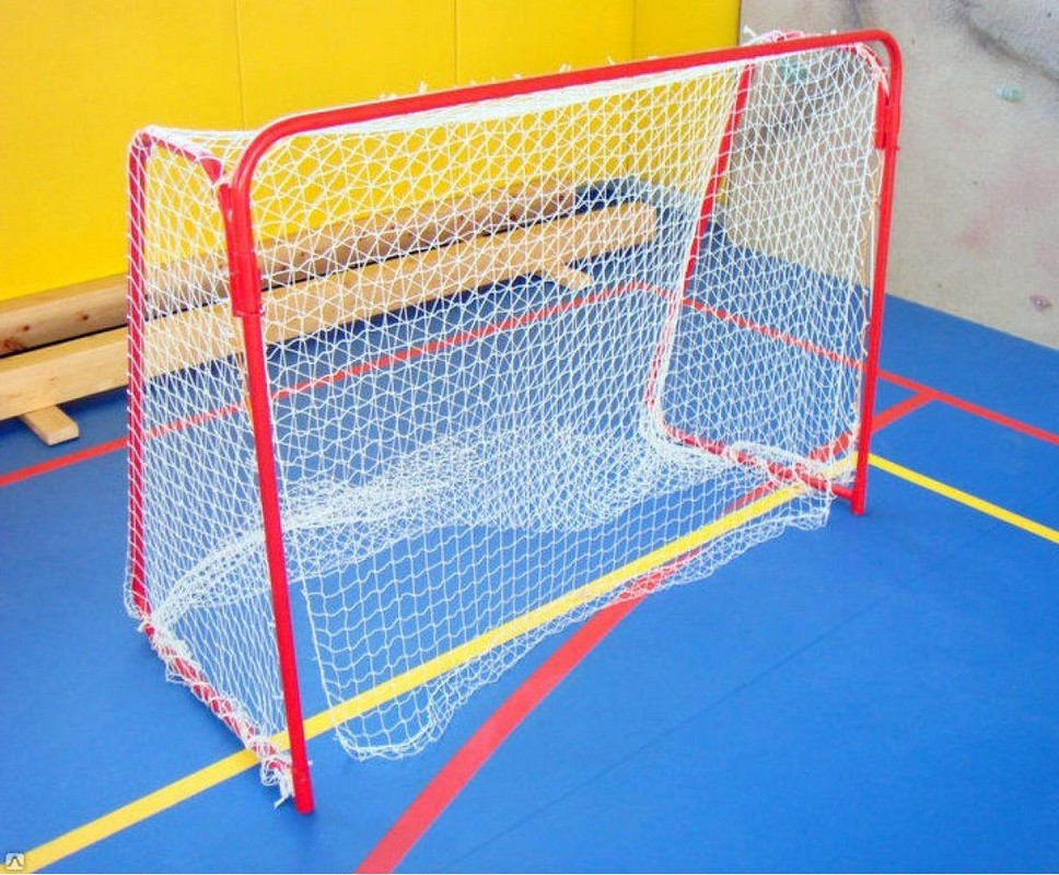 Купить Сетка гашения для хоккейных ворот SG d=4,0мм SG-558,