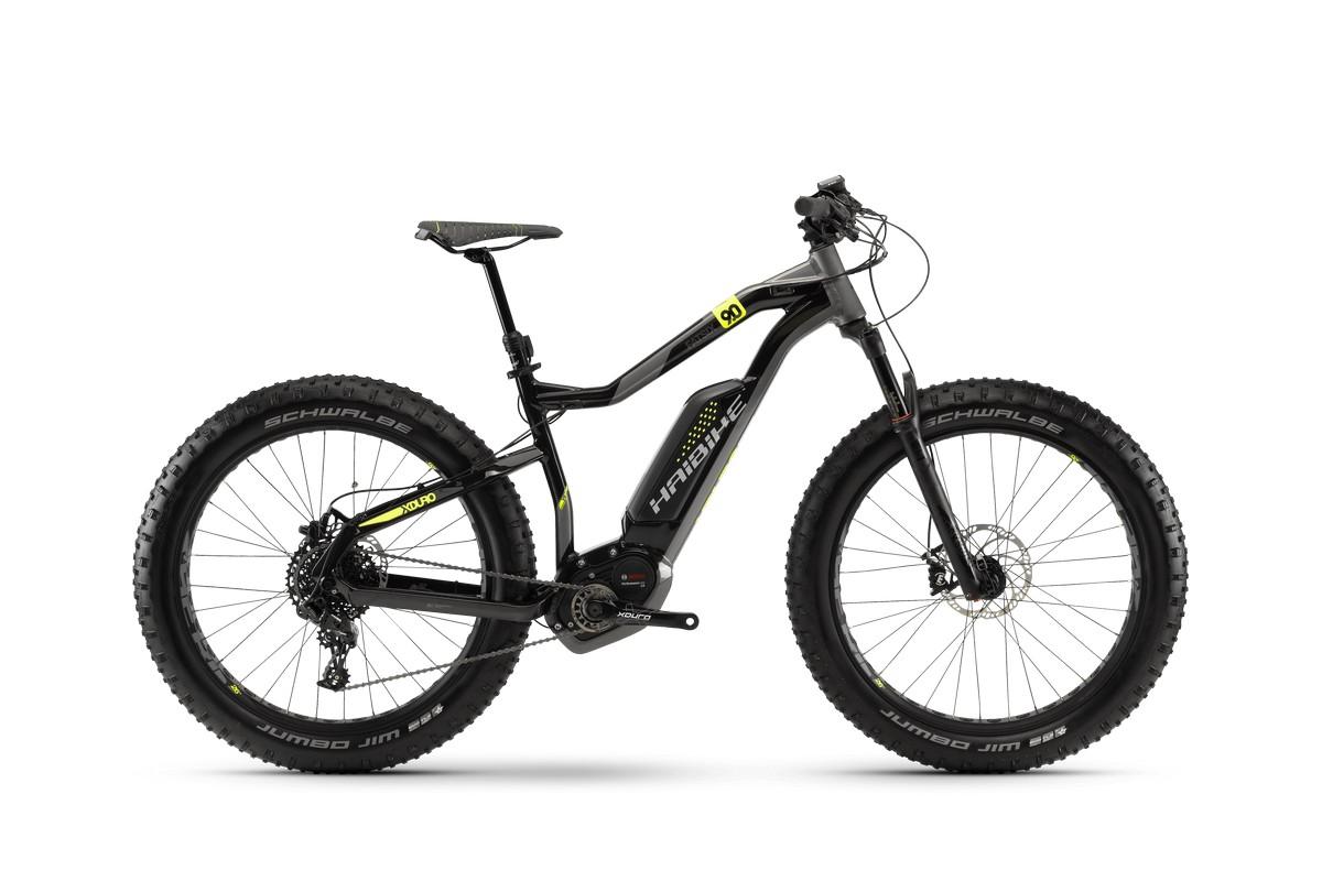 Электровелосипед HaiBike Xduro FatSix 9.0 500Wh 11s NX (2018)