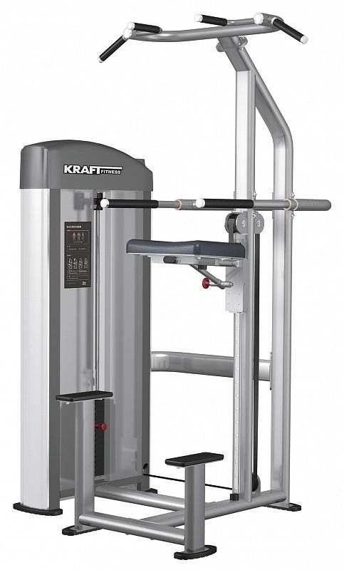 Подтягивание/отжимание с помощью Kraft Fitness KFDDCA регулируемая скамья kraft fitness kffiuby