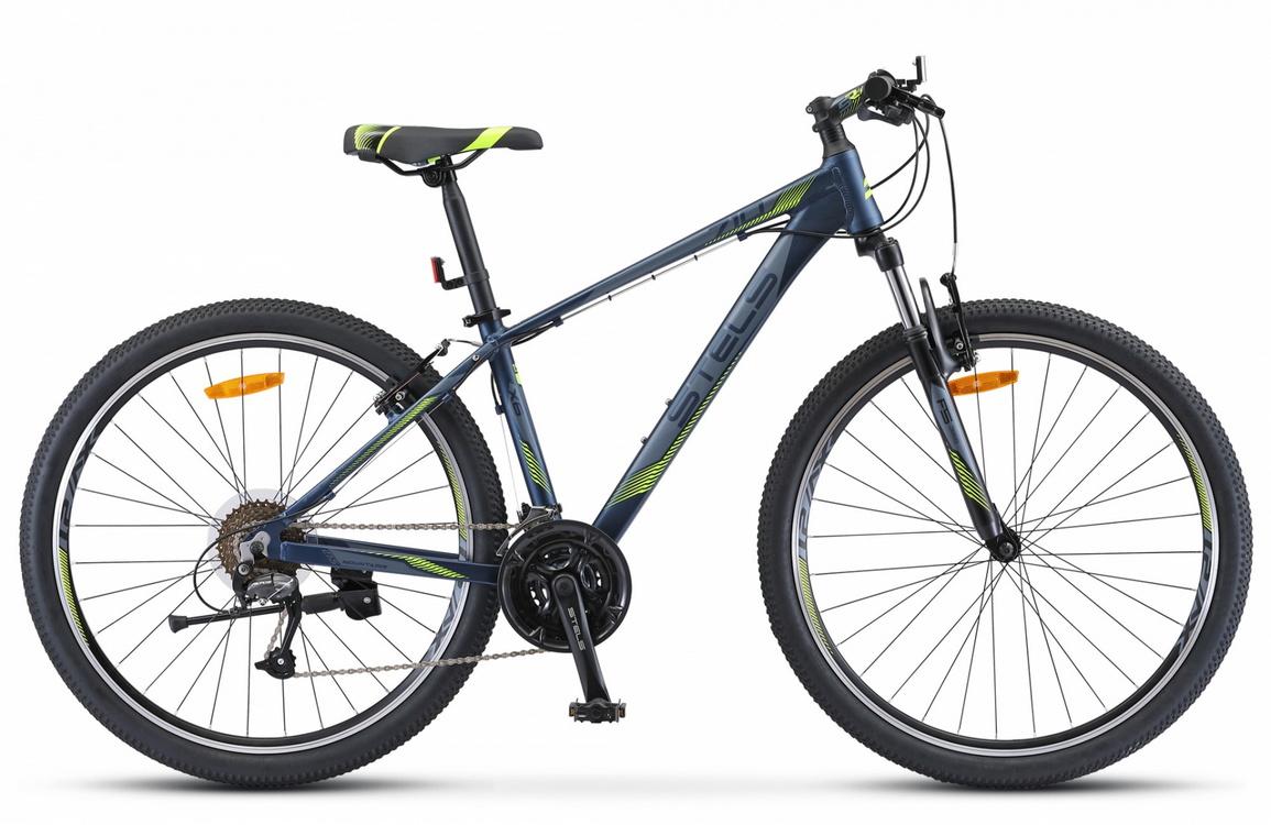Купить Велосипед Stels Navigator 710 V V010 Тёмно-синий 27.5Ø 2019 (LU092618),