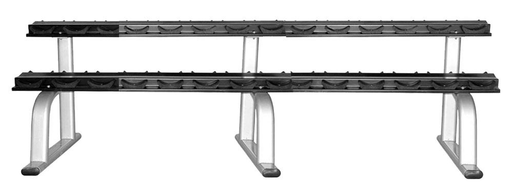 Стойка для гантелей Aerofit RK-ALB-1830-VL-15 складной коврик для аэробики aerofit em rk 307e
