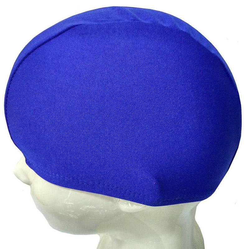 Купить Шапочка для плавания текстиль детская (синяя) B26291, NoBrand