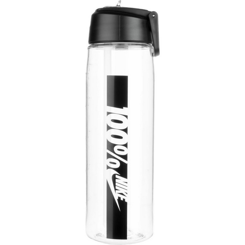 Бутылка для воды Nike Core Flow 100 Water Bottle 24 oz Clear/Black 709мл