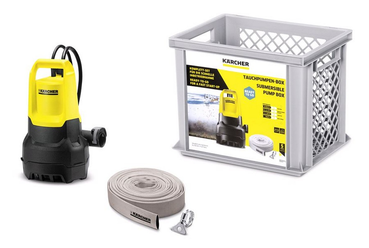 Насос Karcher Бытовой Submersible Pump Box