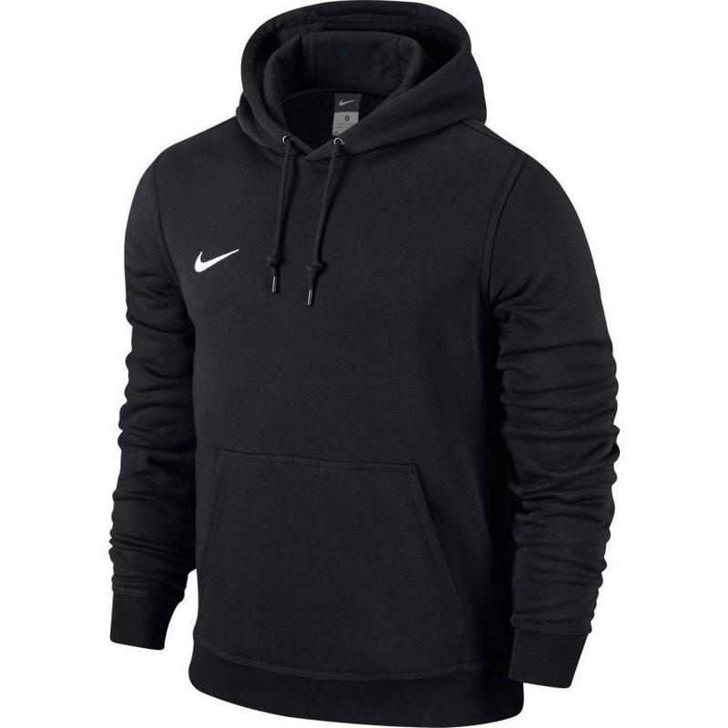 Джемпер мужской Nike Team Club Hoody 658498-010 черный толстовка классическая rip curl big m fleece mineral red