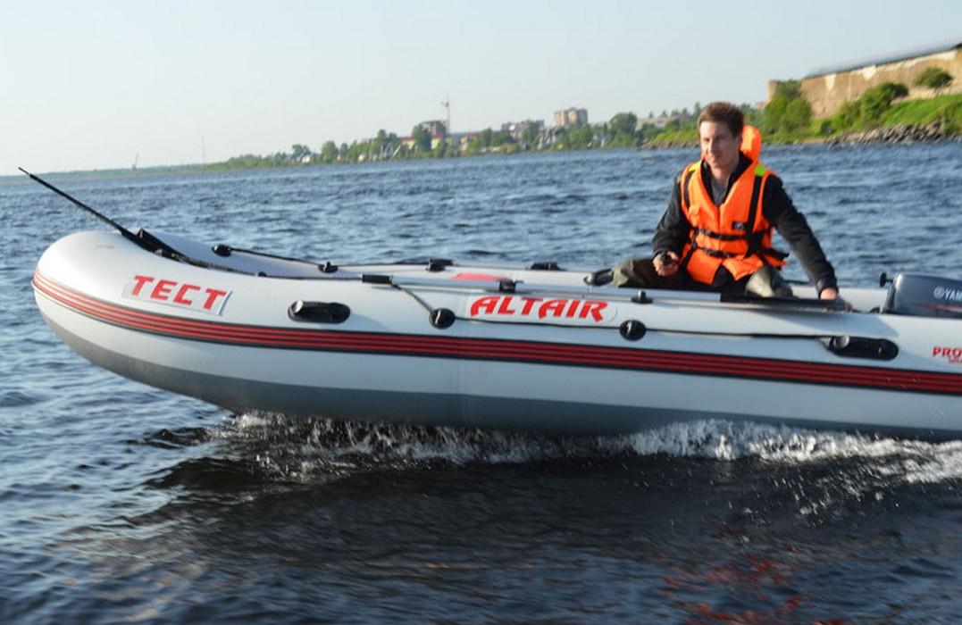 Моторная лодка повышенной мореходности Altair Pro Ultra-425 пвх лодки б у в москве