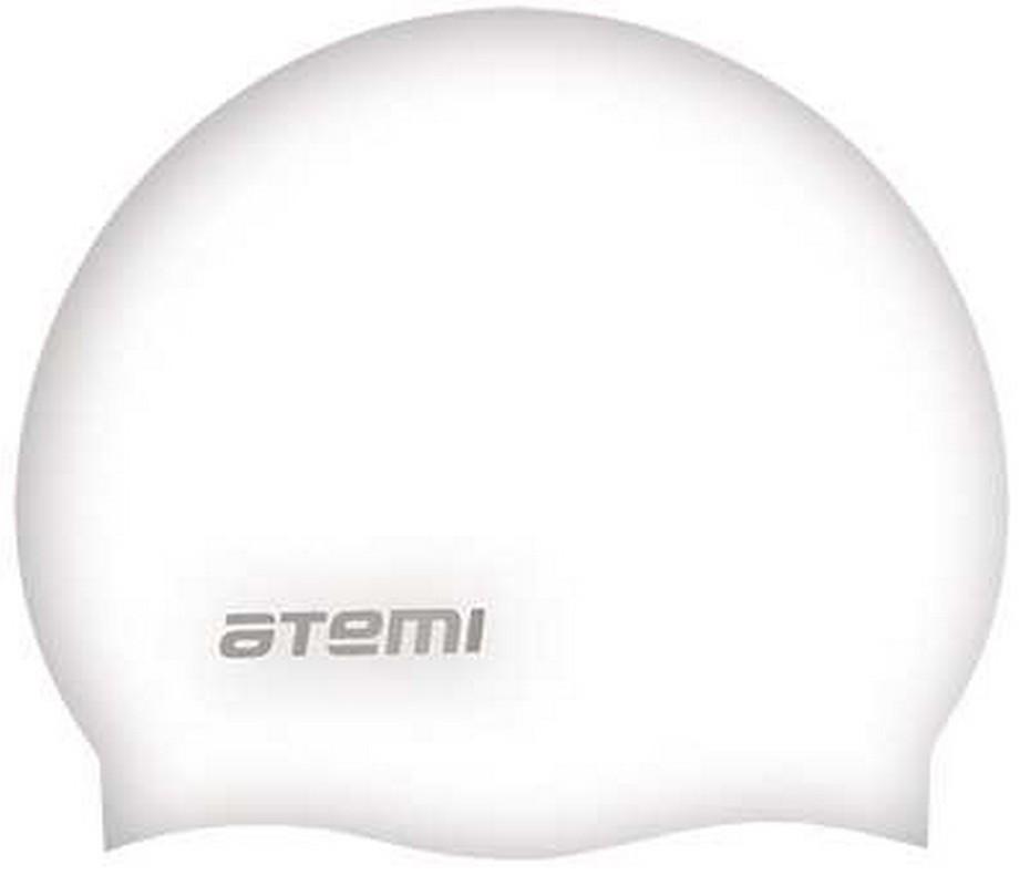 Купить Шапочка для плавания Atemi SC308 силикон, белый,