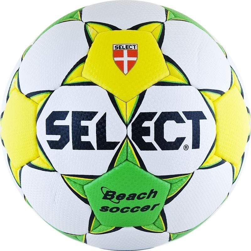 Мяч футбольный Select Beach Soccer р.5 815812-045 какой футбольный мяч лучше из пвх или из бутила
