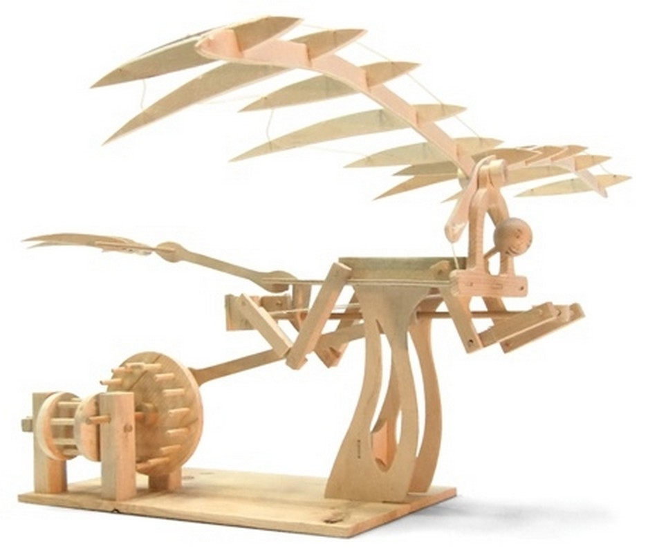 Конструктор из дерева Bradex Орнитоптер Леонардо Да Винчи DE 0171