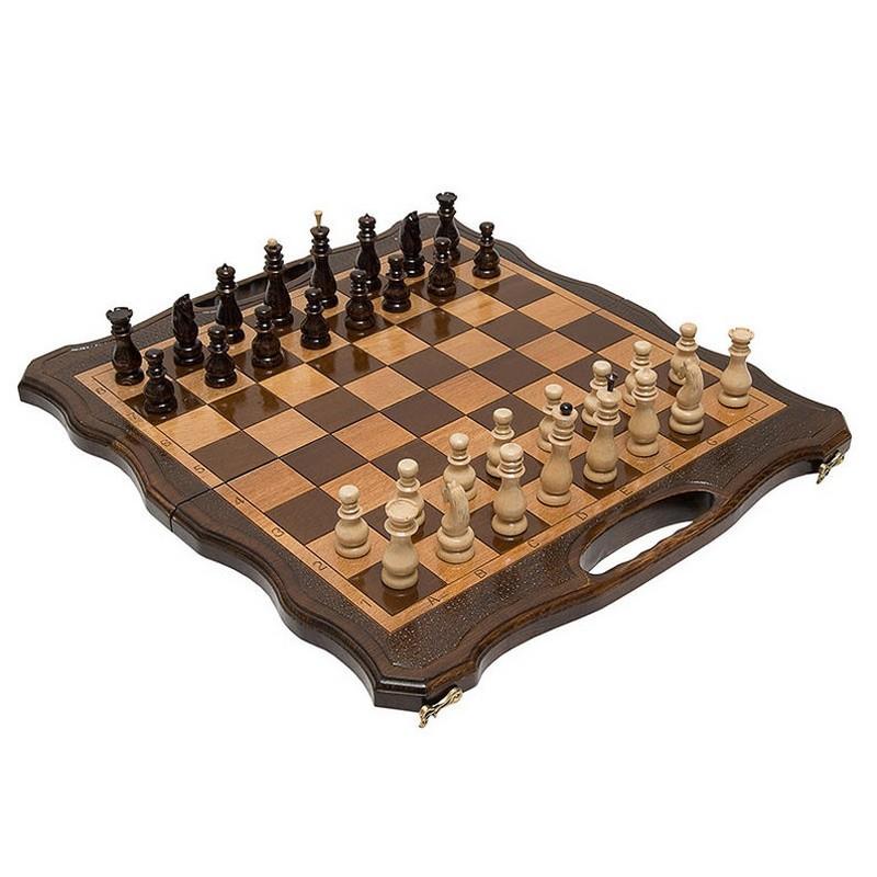 Купить Шахматы, нарды резные Haleyan 50 с ручкой kh130-5, шашки, нарды