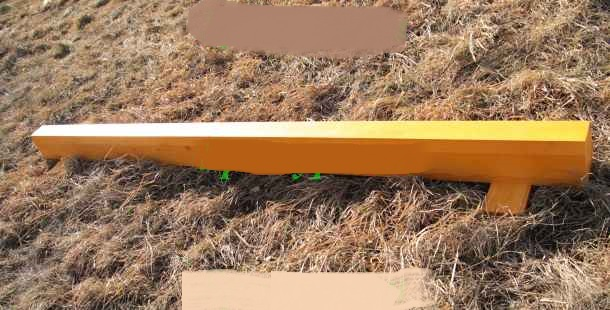 Бревно гимнастическое напольное 5м (верх ковролин), шт. sportiko ковролин ideal echo 166 5м