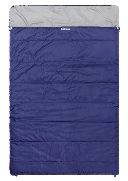Купить Спальный мешок Trek Planet Trento Double синий 70306 в России