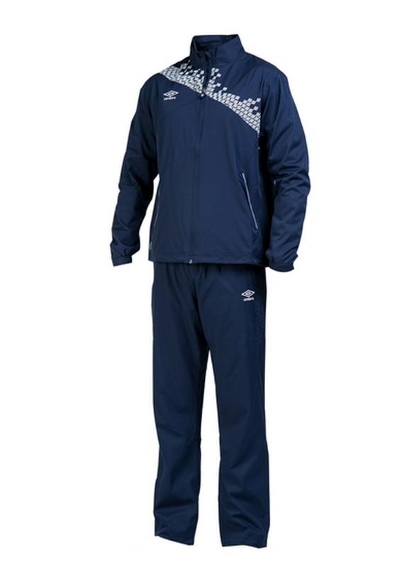 Костюм спортивный Umbro Armada Lined Suit мужской 460115 (911) т.син/бел.