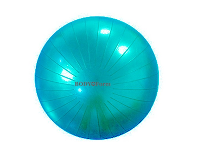 Мяч гимнастический Body Form BF-GB03AB D=55 см лазурный