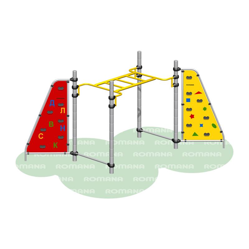 Купить Спортивный комплекс Romana 401.04.00, Детские спортивные комплексы, площадки
