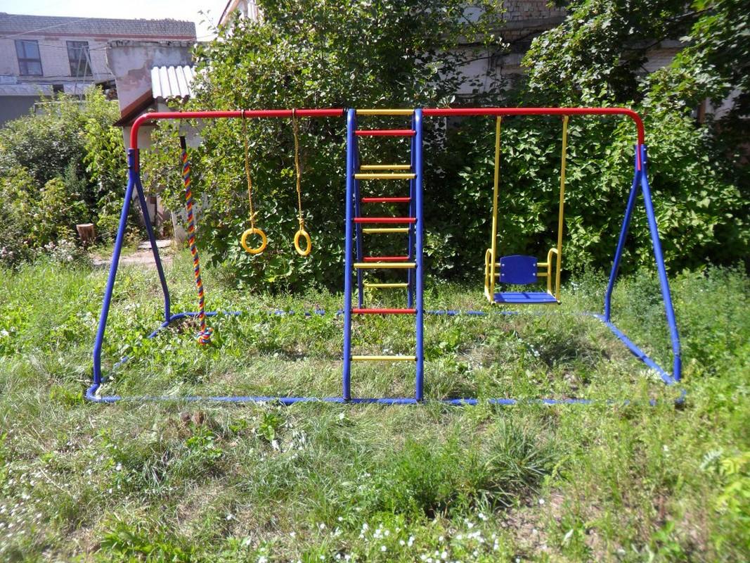 Уличный детский спортивный комплекс Пионер Малыш-плюс ТК-2 детский спортивный комплекс пионер орленок тк 2