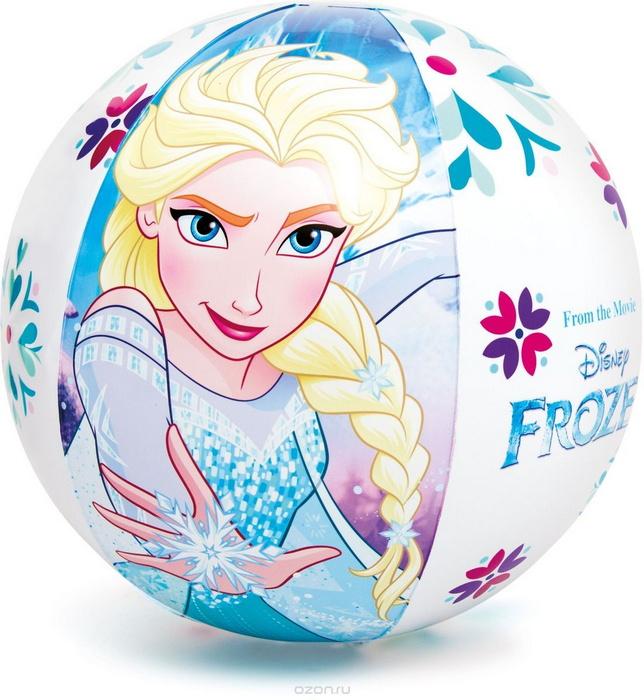 Надувной мяч Intex Холодное сердце D=51 см, 3+