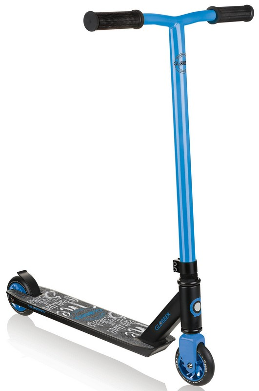 Купить Трюковой самокат Globber GS 360 синий,