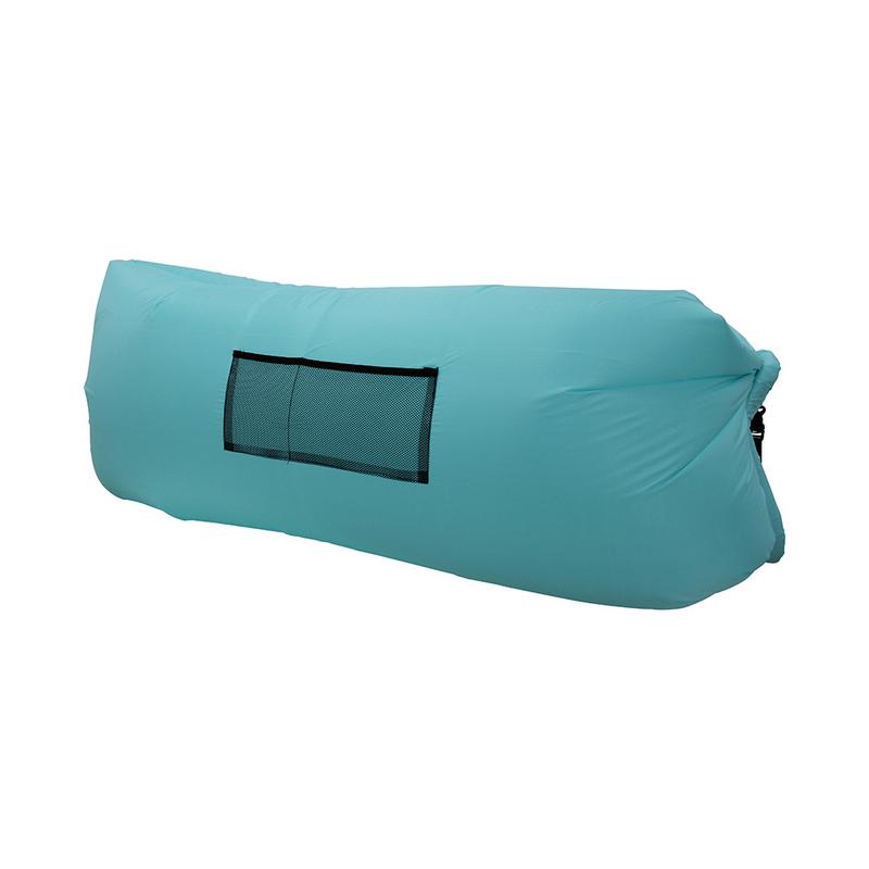 Надувной лежак Lamzac бирюзовый