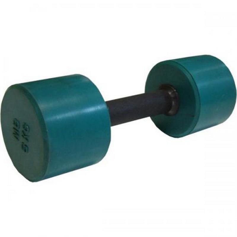 Гантель обрезиненная с обрезиненной ручкой 6 кг MB Barbell MB-FitC-6 цветная гантель обрезиненная с обрезиненной ручкой mb barbell 0 5 кг