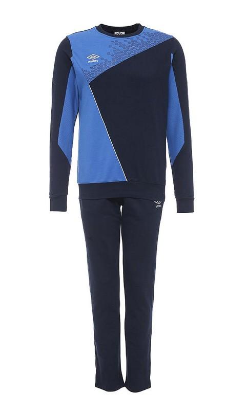 Костюм спортивный Umbro Armada Cotton Suit мужской 350115 (791) син/т.син/бел.
