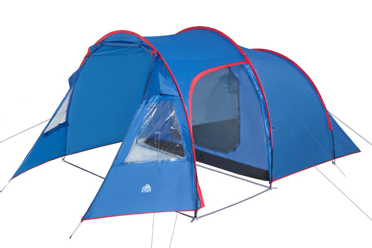 Палатка Trek Planet Trento 4 синий-красный
