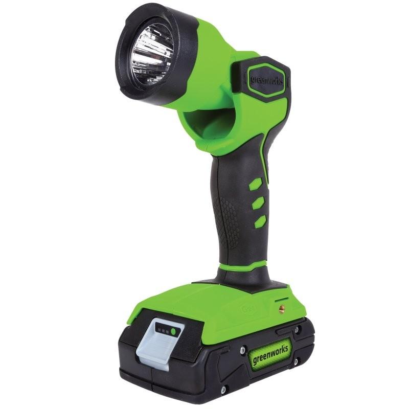 Фонарь аккумуляторный GreenWorks G24WL без АКБ и ЗУ 3500507