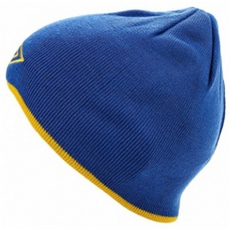 Шапочка Umbro Training beanie 565509 (073A) син/жёл.