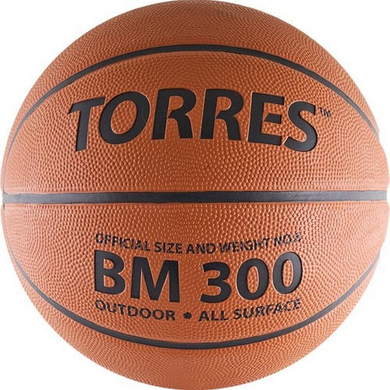 Баскетбольный мяч р6 Torres BM300 В00016 фото
