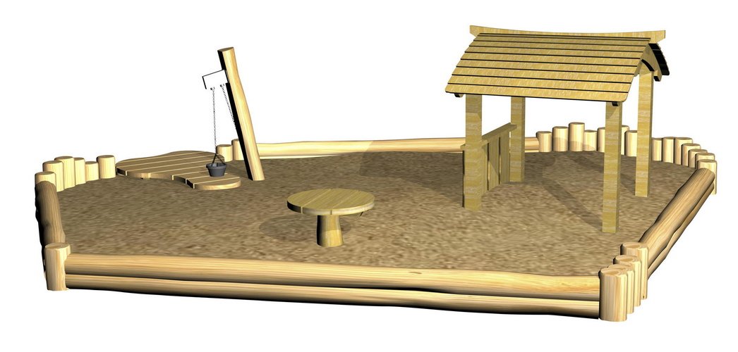 Купить Песочный дворик Hercules 32583,