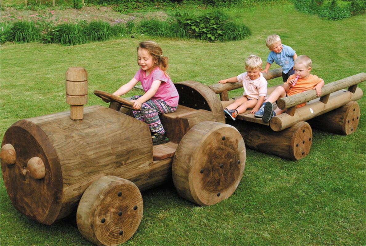 Купить Трактор c телегой Hercules Серия Ферма 32620, Детские спортивные комплексы, площадки