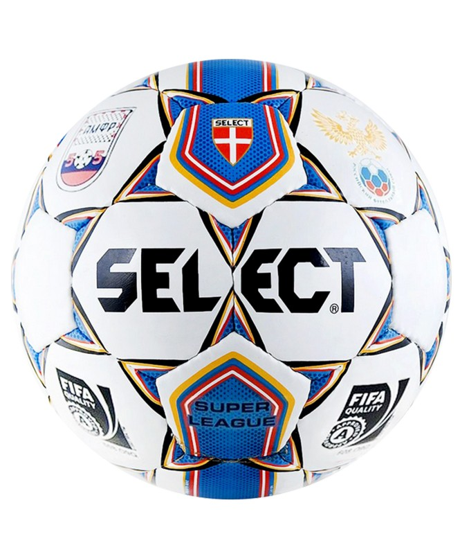 Мяч футзальный Select Futsal Super League АМФР РФС FIFA белый мяч футзальный select futsal samba 852618 005 р 4