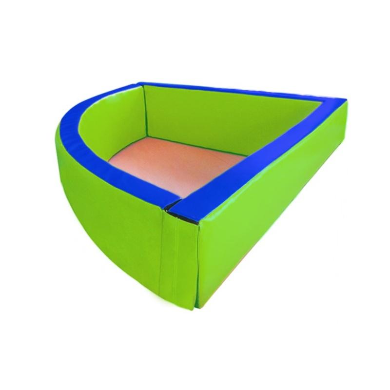 Купить Сухой бассейн угловой 1500х400х100 мм Dinamika ZSO-003032,