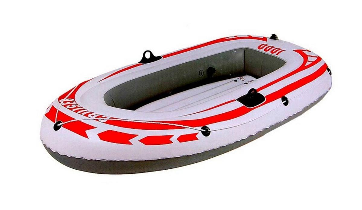 Лодка надувная Jilong Cruiser Boat Cb 1000 185x98x28см Серый 007008-1
