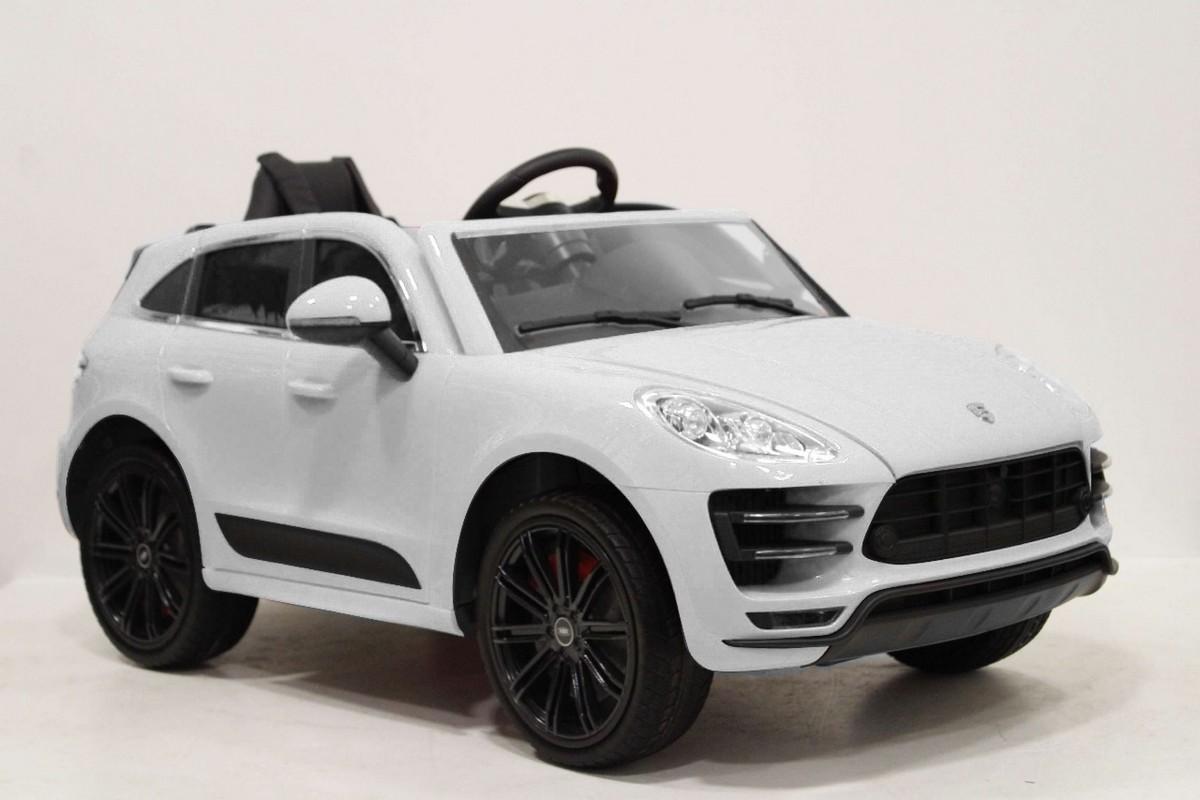 Купить Детский Электромобиль RiverToys Porsche Universal A555AA c дистанционным управлением, белый, River-Toys, Детские электромобили