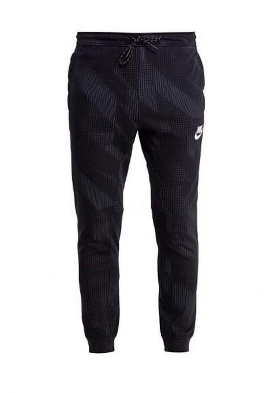 Брюки мужские Nike Nsw Av15 Pant Fleece Aop 885939-010 флис, т.синие