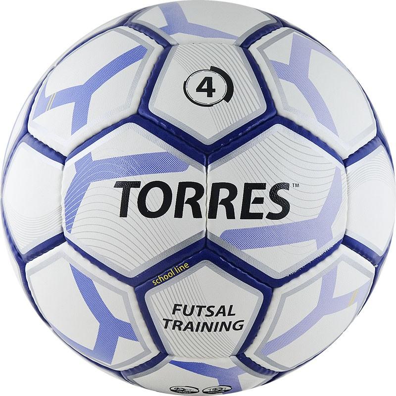 Мяч футбольный Torres Futsal Training р.4 F30644