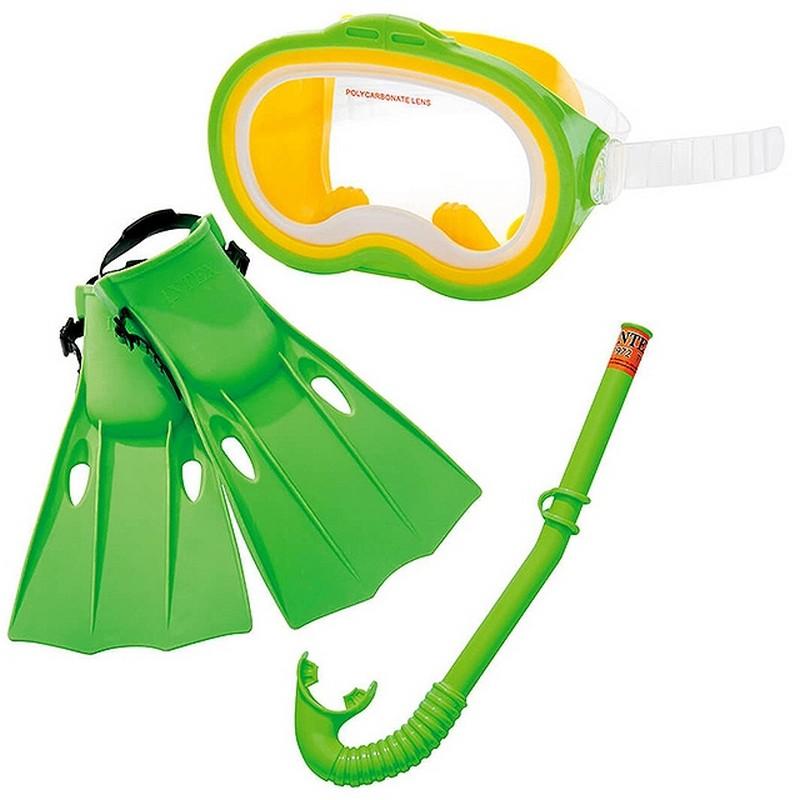 Набор маска/трубка/ласты Intex Master Class 55955