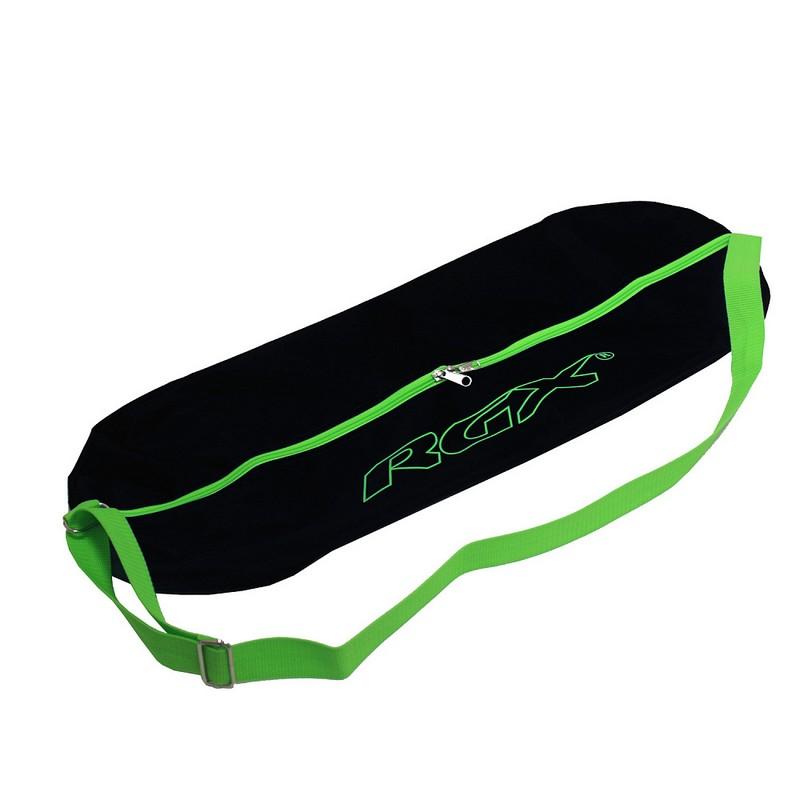 Сумка для пенниборда RGX BP-1 черный-зеленый сумка для мини круизера larsen 63x26cm orange