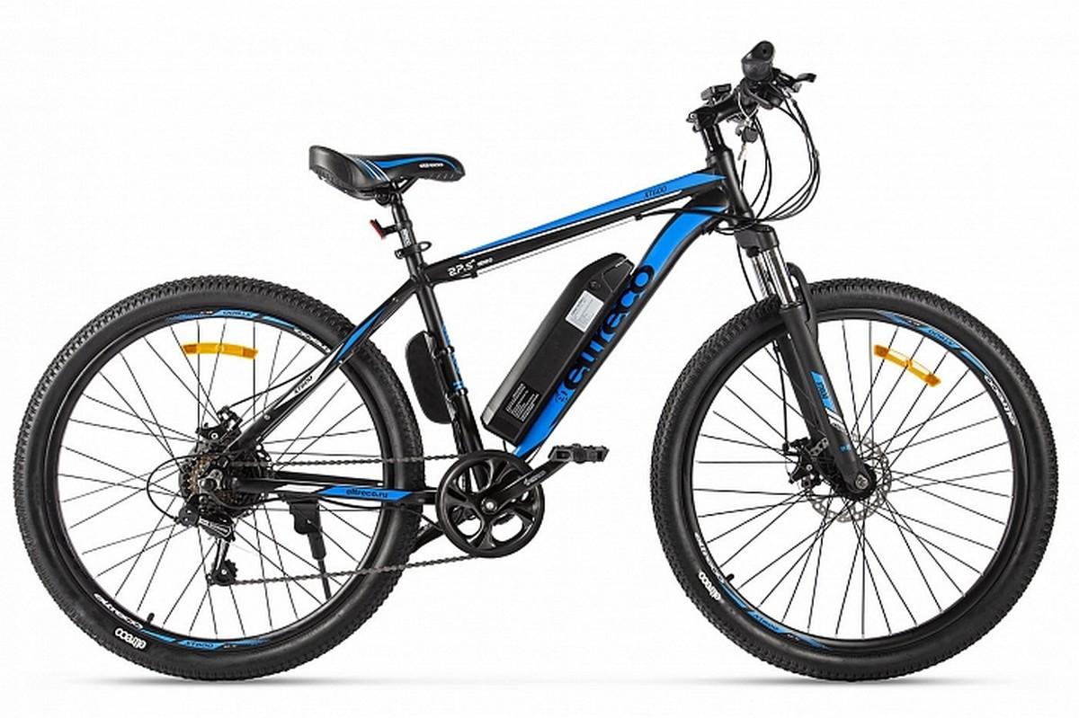 Велогибрид Eltreco XT 600 022297-2129 черно-синий