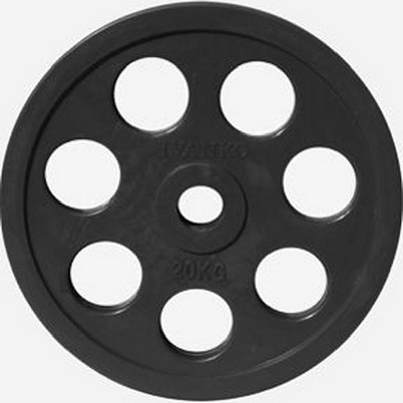 Купить Диск Johns d51мм, 25кг DR71023 - 25В черный,