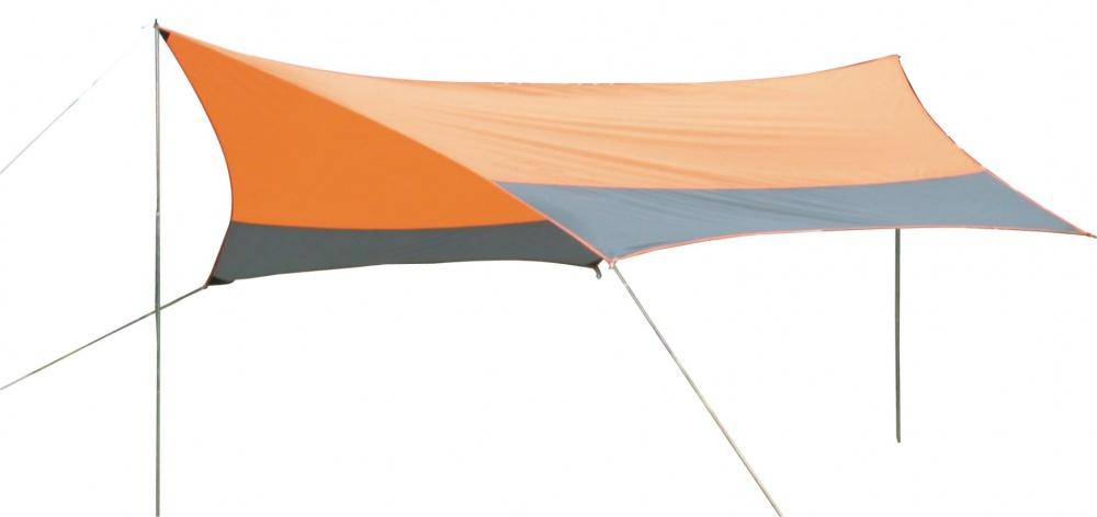 Тент со стойками Greenwood FDT-1148 оранжевый\серый