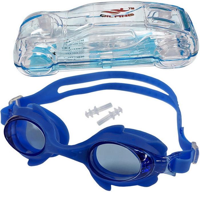 Купить Очки для плавания детские (синие) B31570, NoBrand