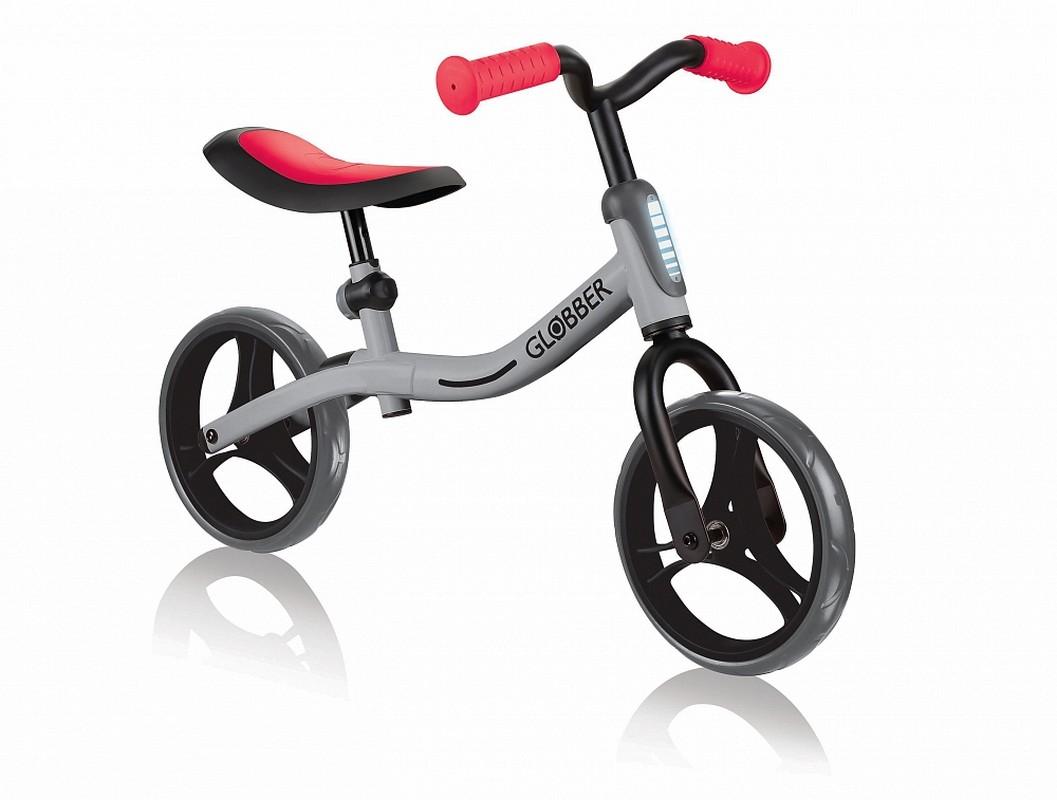 Купить Беговел Globber GO Bike серый-красный, Беговелы