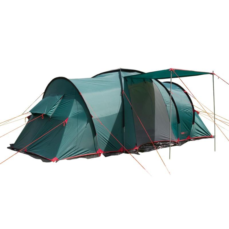 Палатка BTrace Ruswell 6 T0270 зеленый