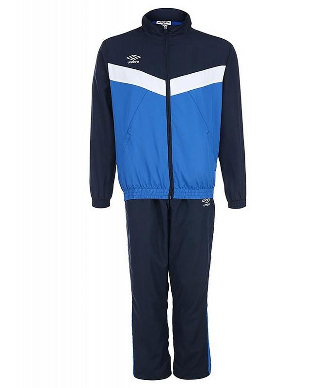 Костюм спортивный Umbro Unity Lined Suit брюки прямые 463115 (791) син/т.син/бел.